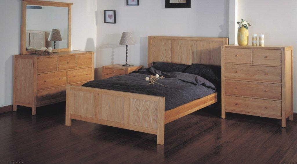 Canberra oak bedroom furniture for Oak bedroom furniture